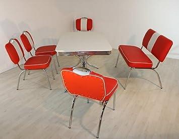 Dreams4Home Bankgruppe U0027Dolorasu0027   Set, Essgruppe, Sitzgruppe, 4 Stühle,  Maße