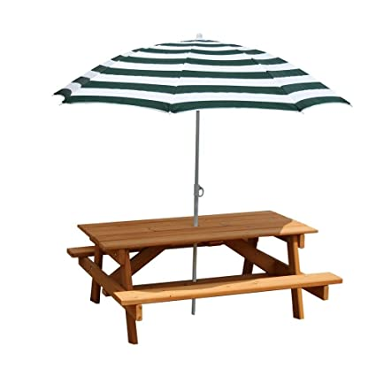 picnic table with umbrella Amazon.com: Gorilla Playsets Children's Picnic Table with Umbrella  picnic table with umbrella