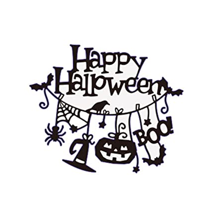 fangfang happy halloween cutting dies diy metal scrapbooking stencil card making embossing paper for halloween decoration