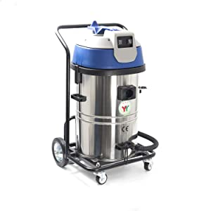 Industrial Vacuum - Wet/Dry Industrial - 16G - 2400 W - 7770 FT3/HR