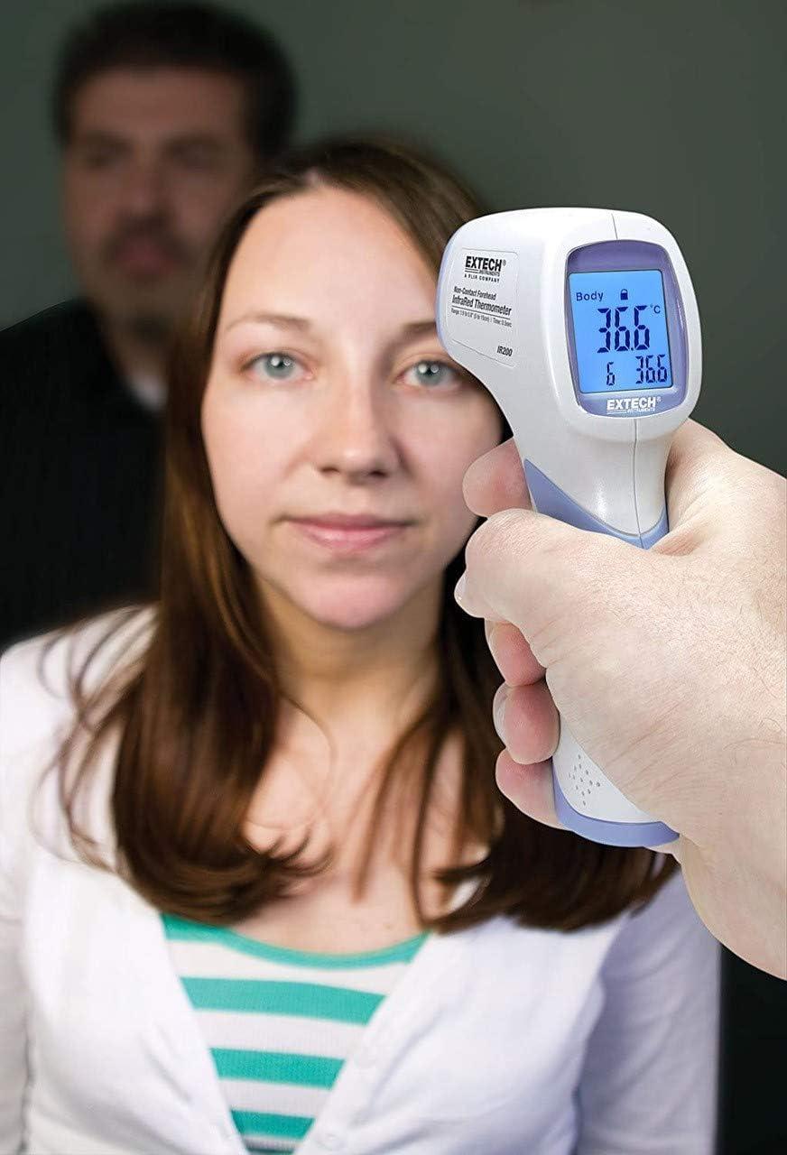 Term/ómetro infrarrojo sin contacto Extech IR200