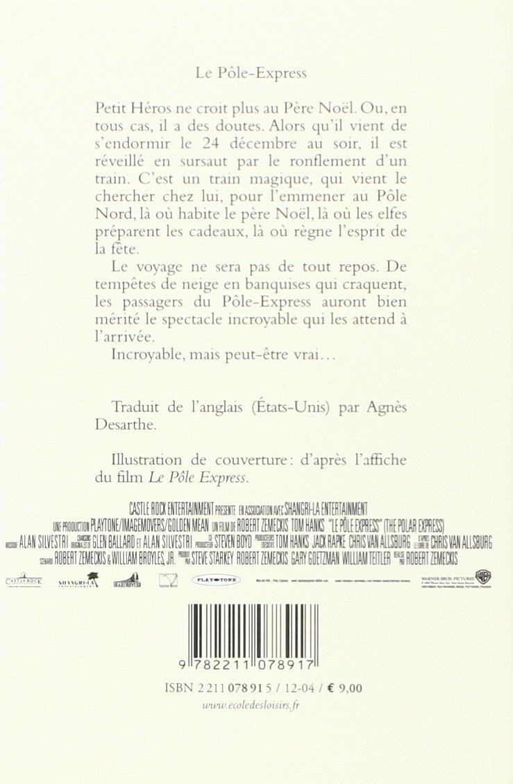 Super Amazon.fr - Le Pôle-Express : Un voyage au pays du Père Noël  CG59