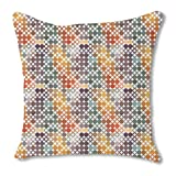 Happy Star Bingo 16X16 Burlap Pillow 2-Sided Custom Printed