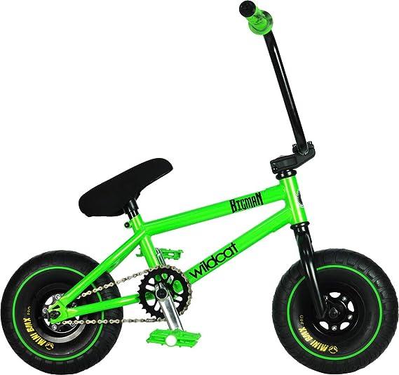 Wildcat Amazon Original 1B Mini BMX - Bicicleta de montaña, color verde: Amazon.es: Deportes y aire libre
