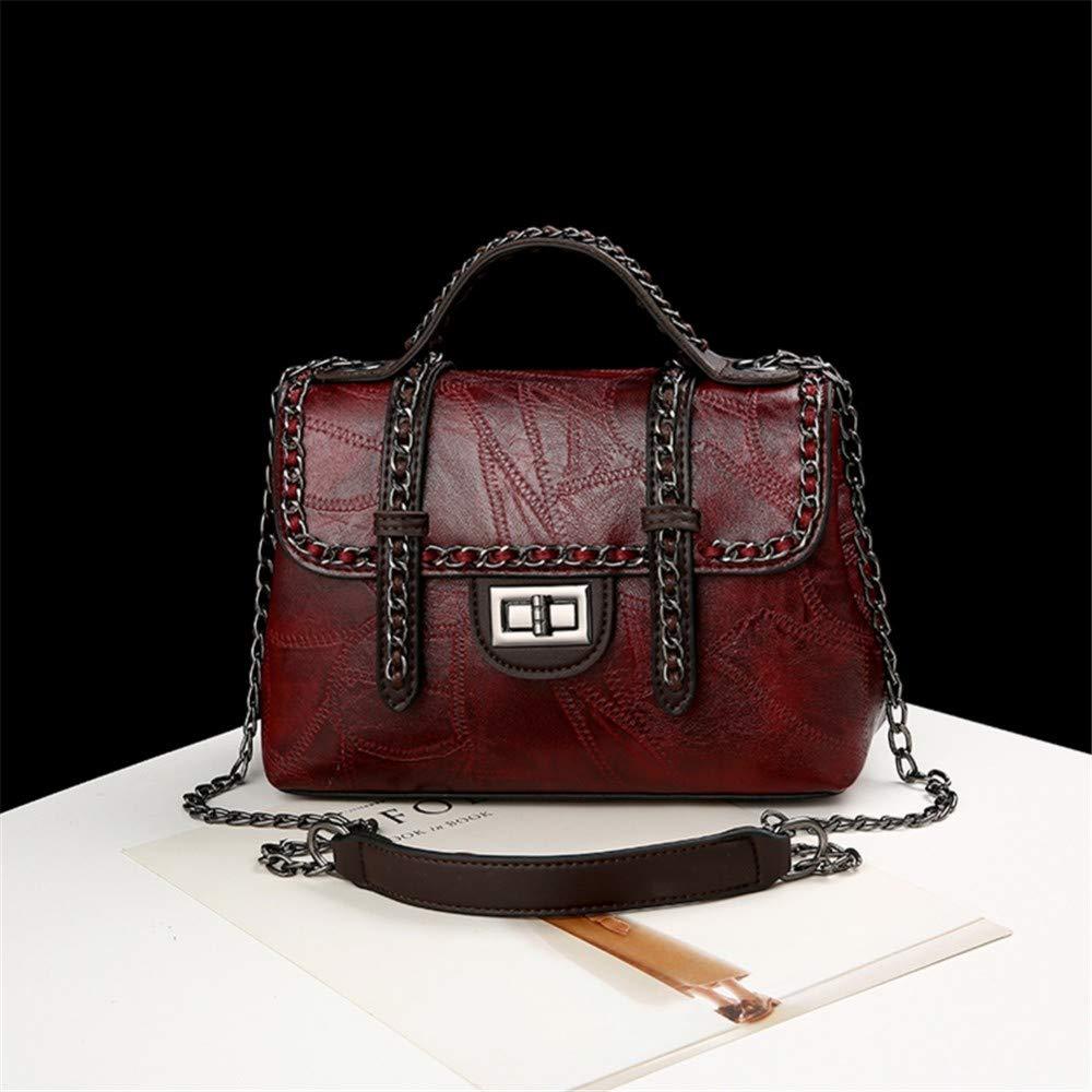 Lidoudou Damentasche, vielseitige beiläufige Kette, Art und Weise, eine Schulter diagonale Handtaschengröße (Höhe 17cm, Breite 25cm) Material PU B07NRXQQ66 Damenhandtaschen König der Quantität