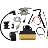 Carbhub Carburetor for Stihl 021 023 025 MS210 MS230 MS250 Chainsaw Carb with 1123 160 1650 Air Filter Ignition Coil…