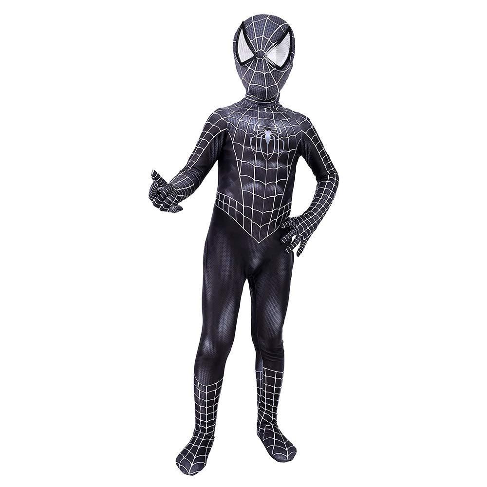 ERTSDFXA Venom Spiderman Disfraces Adulto Nino Disfraz De ...