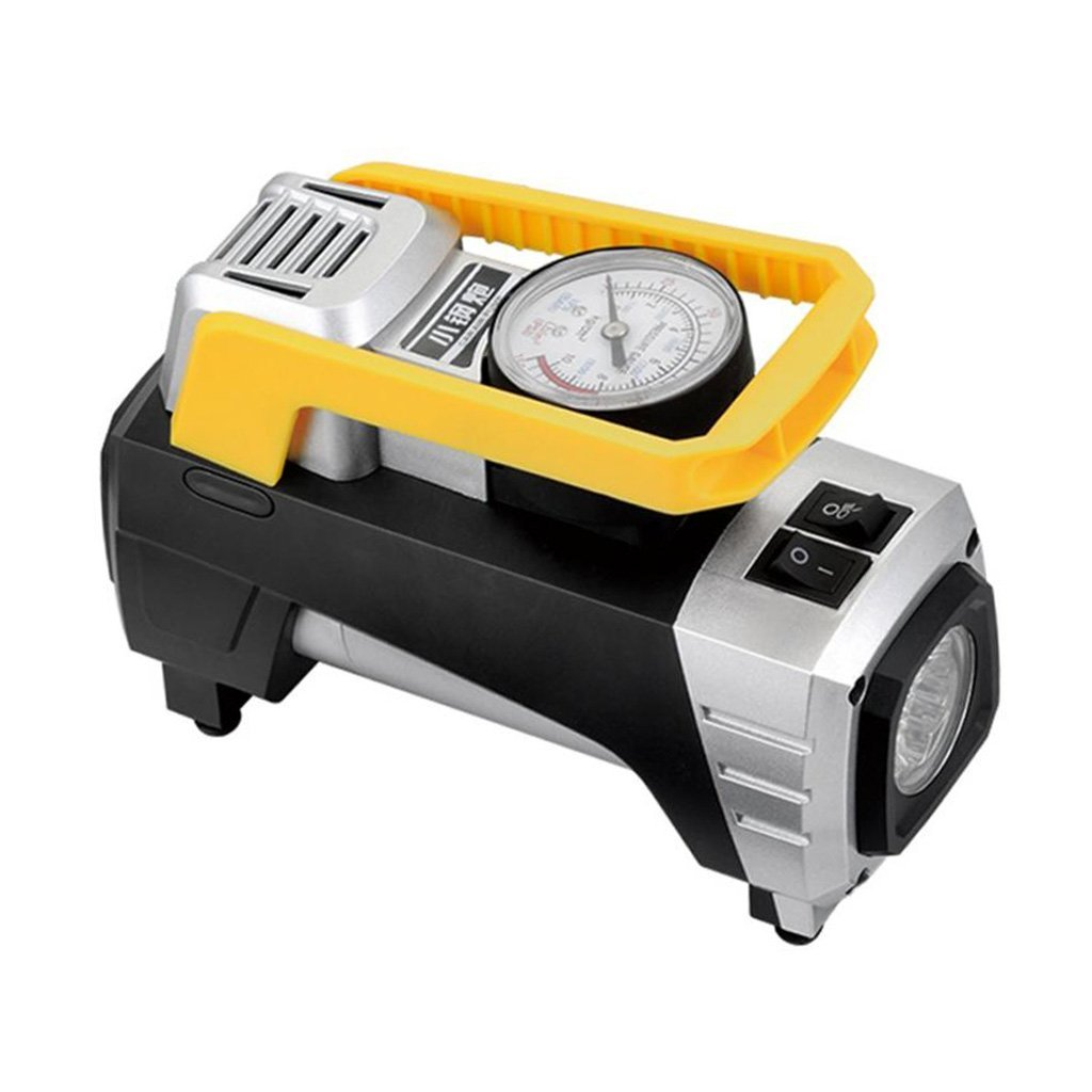 MagiDeal Multifunction 12VCar Air Compressor Pump Pointer Display Inflator With Light