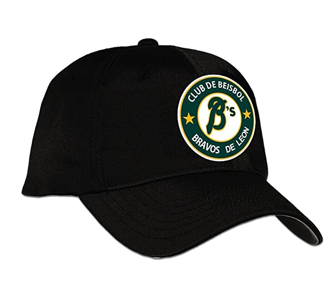 Baseball Club Bravos De Leon CAP Color Black (One Size)