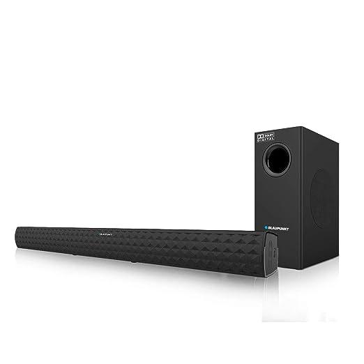 Blaupunkt SBWL03 250W 2.1 Channel Dolby Soundbar with Wireless Subwoofer, HDMI ARC Connectivity and Adaptive EQ Modes Soundbar Speakers