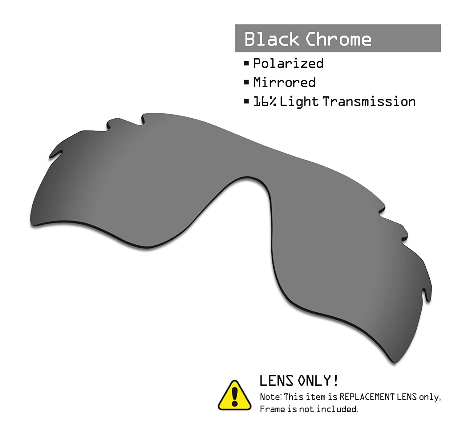 37816ebed56 ... SmartVLT Mens Replacement Lenses for Oakley RadarLock Path Vented  Sunglass - More Options 68RED-11AB ...