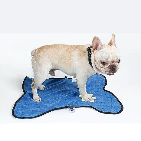 Lupeta Toalla de Secado de perro Toalla de Microfibra Absorbente Mascota patas Sucias Toalla de baño