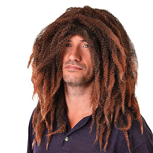 Bob Marley Rasta Dreadlock Wig (Brown Dreadlock Wig)