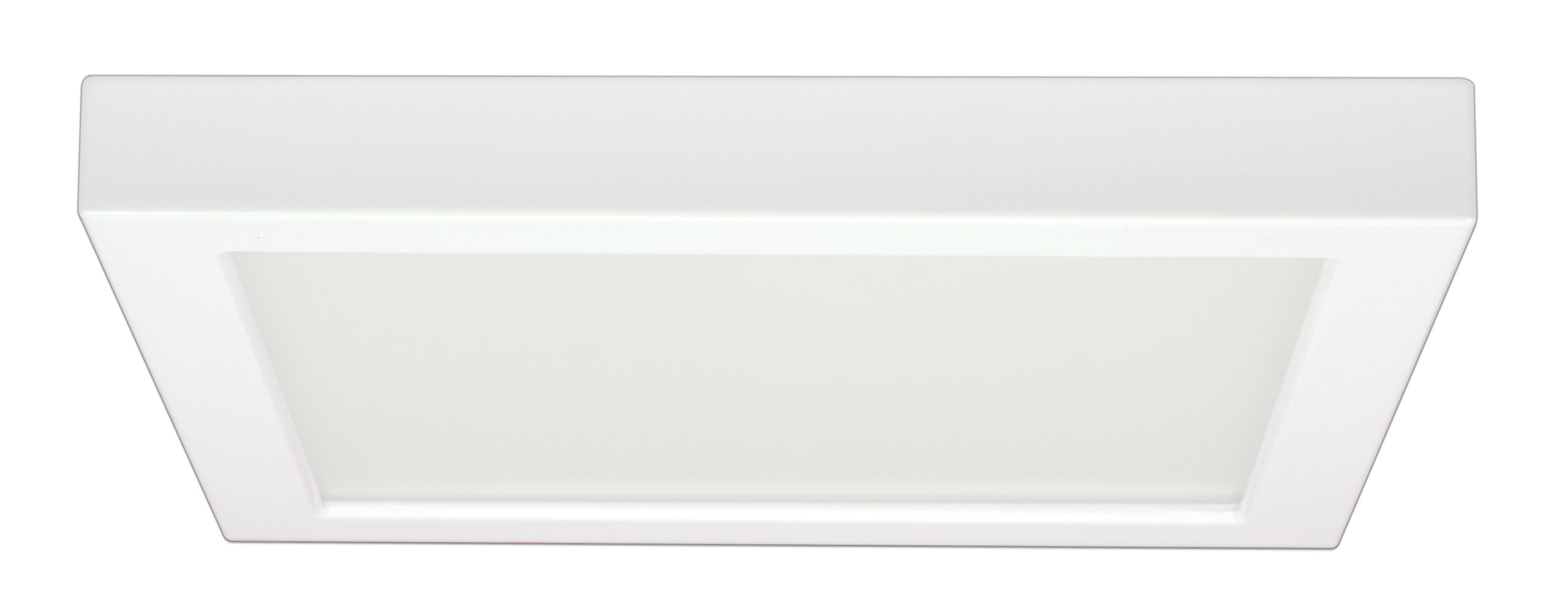 Satco Products S9363 Blink Flush Mount LED Fixture, 18.5W/9'', White