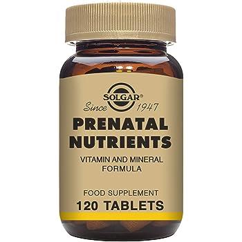 Amazon Com Prenatal Nutrients Solgar 120 Tabs Health