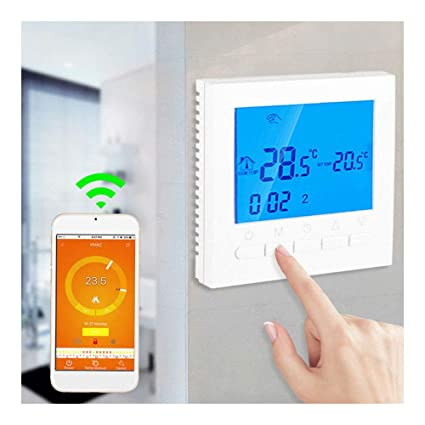 Programmable Smart Wifi Wireless Digital Thermostat AF LCD Display App Control