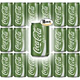 Coke Life, 7.5 Fl Oz Mini Can (Pack of 18, Total of 135 Fl Oz)