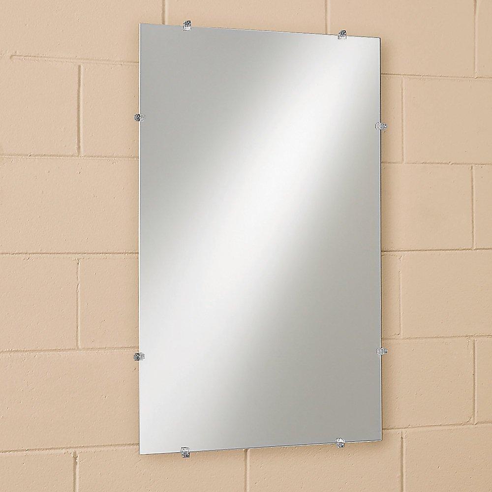 """Frameless Glass Mirror 14"""" x 20"""""""
