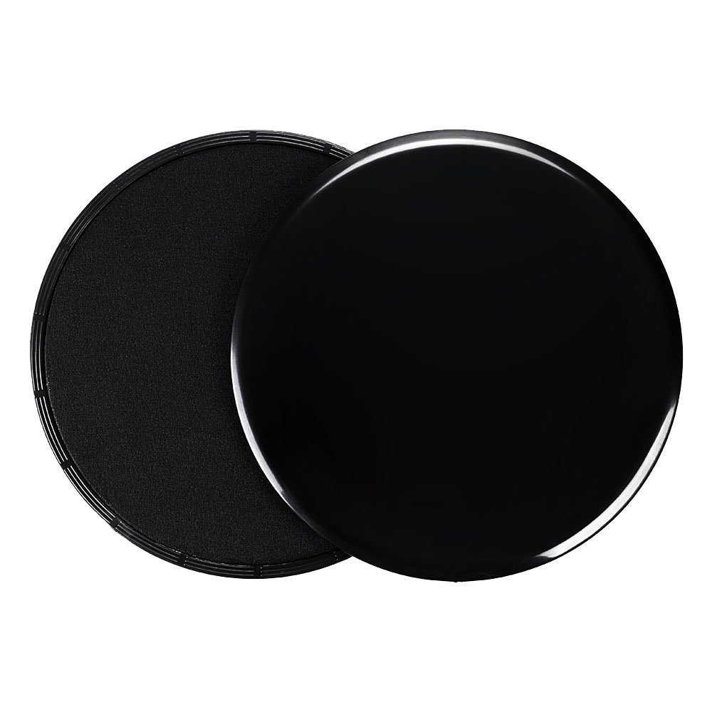 Manora Exercise Sliders Gliding Discs, Thicker and Stronger, Dual Sided, for legs, arms workout by Manora