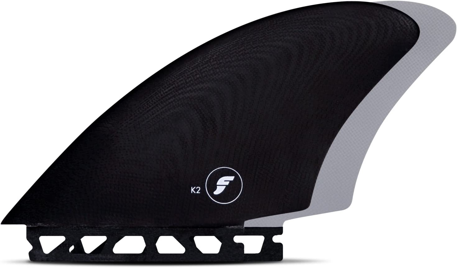 Futures Fins - FK2 Glass KEEL - Black/Grey