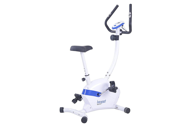 Ixo Sport 212 Bicicleta estática para Adulto, Color Blanco: Amazon ...