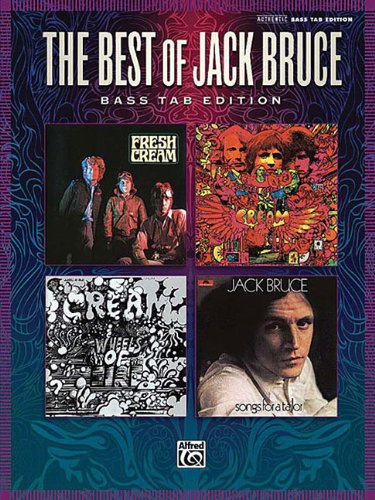 Best of Jack Bruce (Authentic Bass Tab Editions)