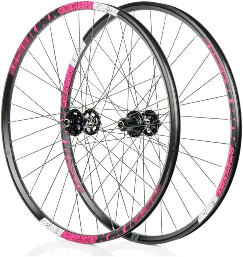 LBBL Ruedas Bicicleta, 700C Wheels Freno Disco 8 9 10 11 Velocidad Rueda Aro Aluminio Liberación Rápida 29 Pulgadas Ligera Y Resistente A La Torsión (Color : C, Size : 29inch)