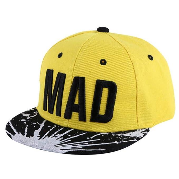 Knncch Nuevas Gorras De Moda De Diseño Personalizado para Niños Hip Hop Snapback Sombreros Simple Carta Belleza Bebé Gorra De Béisbol Niño Niña Linda ...