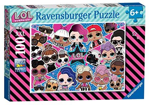 Ravensburger 12882 LOL Surprise XXL 100pc Jigsaw Puzzle,