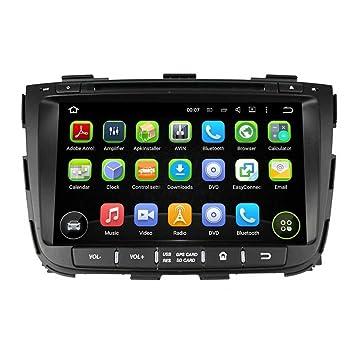 2 Din 8 pulgadas Coche Estéreo con GPS Navegación Android 5.1.1 Lollipop OS para