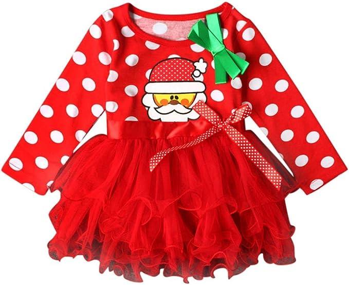 K-youth Navidad Fiesta Vestido Bebe Niña Disfraz Papá Noel ...