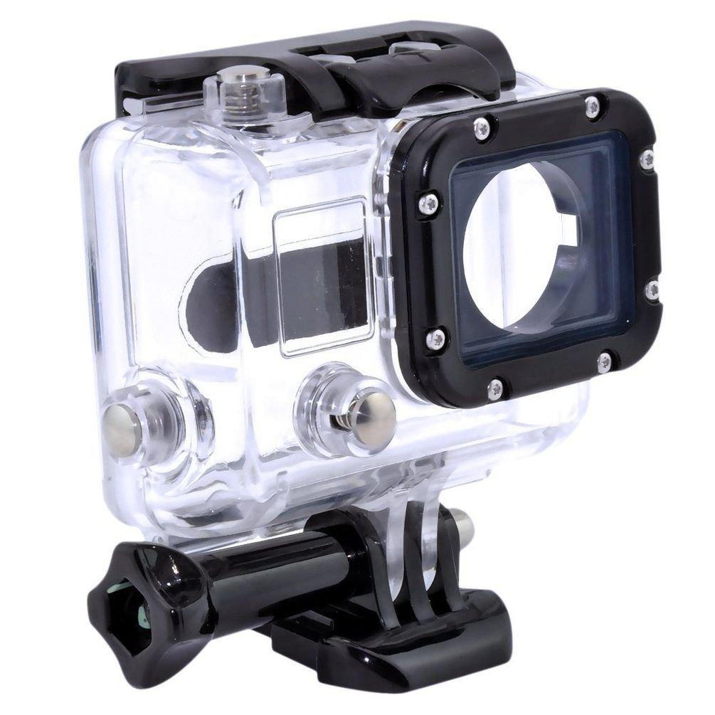 防水ケース、Hangangハウジングケース透明for GoPro hero3 Plus防水ケース、ダイビング保護rotectiveハウジングシェル45 Mアクセサリーfor Go Pro hero3   B07DP2QXGK