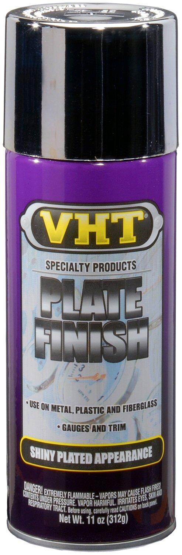 VHT ESP525107 Plate Finish Chrome Plus-11 oz. by VHT