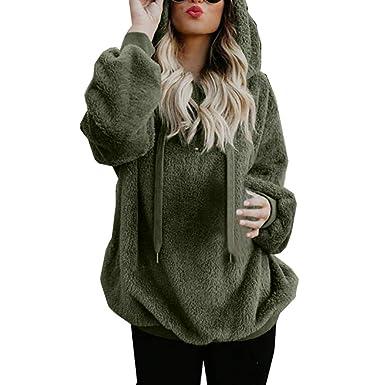 G Anica Felpe con Cappuccio Donna Tumblr, Autunno Manica Lunga Cappotto Giacca Felpa con e Cerniera Sweatshirt Hoodies Donna