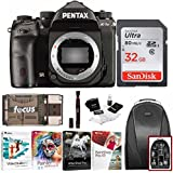 Pentax K-1 Mark II DSLR Camera (Body Only) with 32GB SD Card Advanced Kit