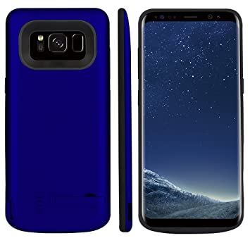 Funda Batería Samsung Galaxy S8 Plus Battery Case 6500mAh Power Bank Carcasa Cargador Battery Recargable Externa Funda Ultra Fin Power Bank Battery ...
