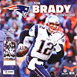 New England Patriots Tom Brady 2018 Calendar: Full-action Poster-sized Images!