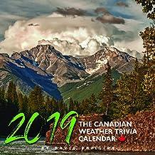 The Canadian Weather Trivia Calendar 2019