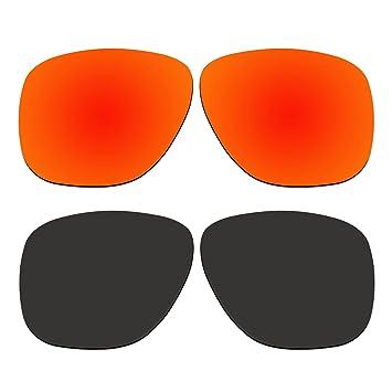 aCompatible 2 Par lentes polarizadas de recambio para Oakley crossrange XL gafas de sol oo9360 Pack