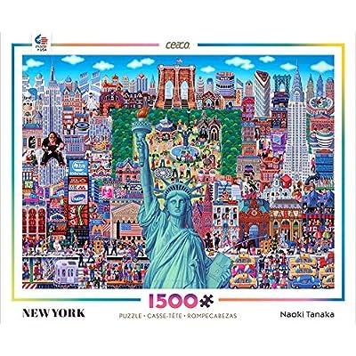 Ceaco Naoki Tanaka - New York Puzzle: Toys & Games