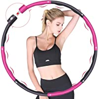 Hula Hoop, gebruikt voor gewichtsverlies en massage, kan worden verdeeld in 6-8 delen, 75-95 cm in diameter, Fitness…