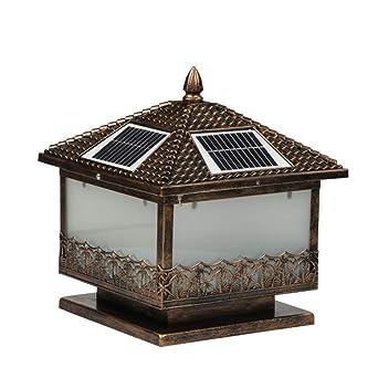 18 M Victorian Lampadaire Lanterne Solaire