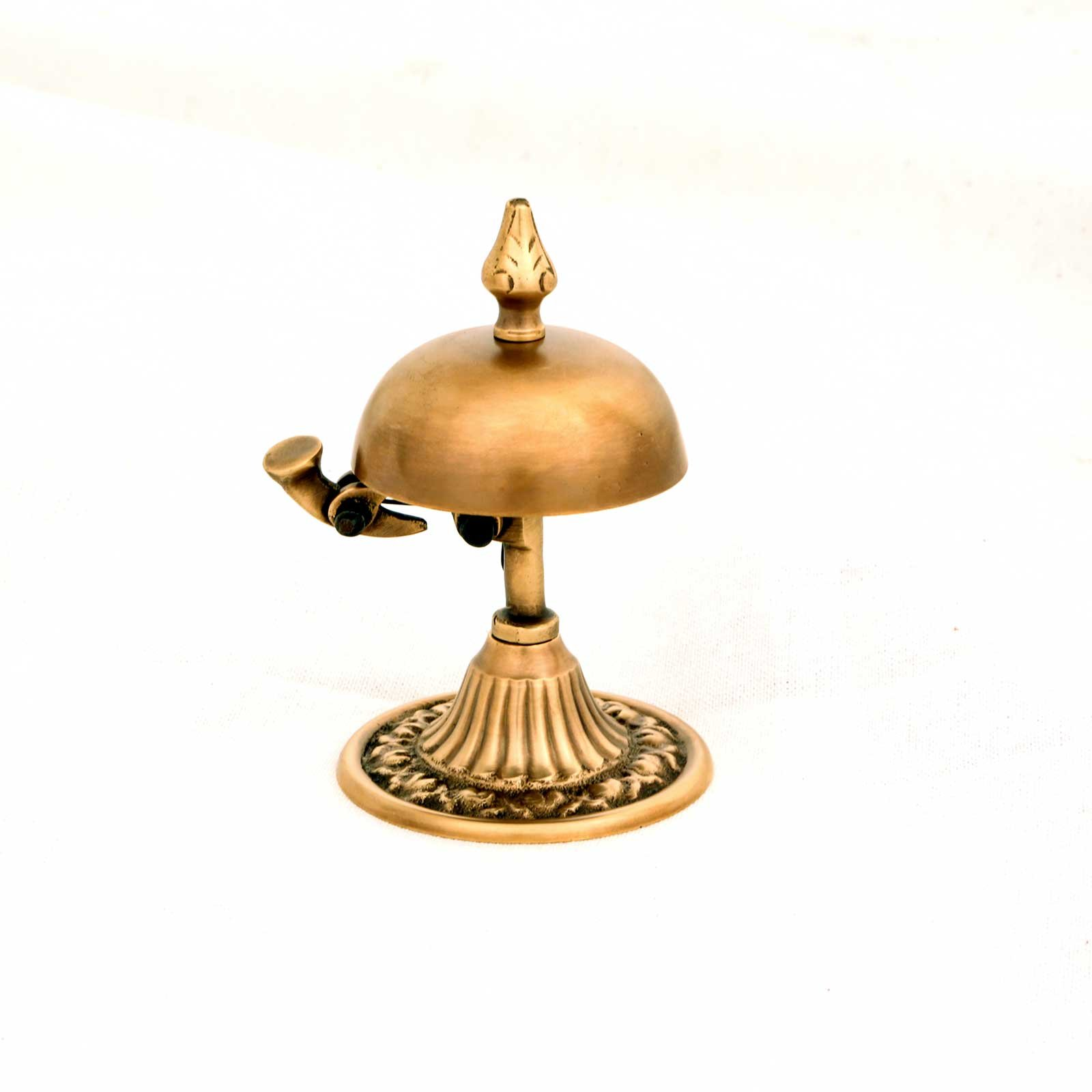 Ectoria Solid Brass Victorian Style Service Hotel Counter Desk Bell