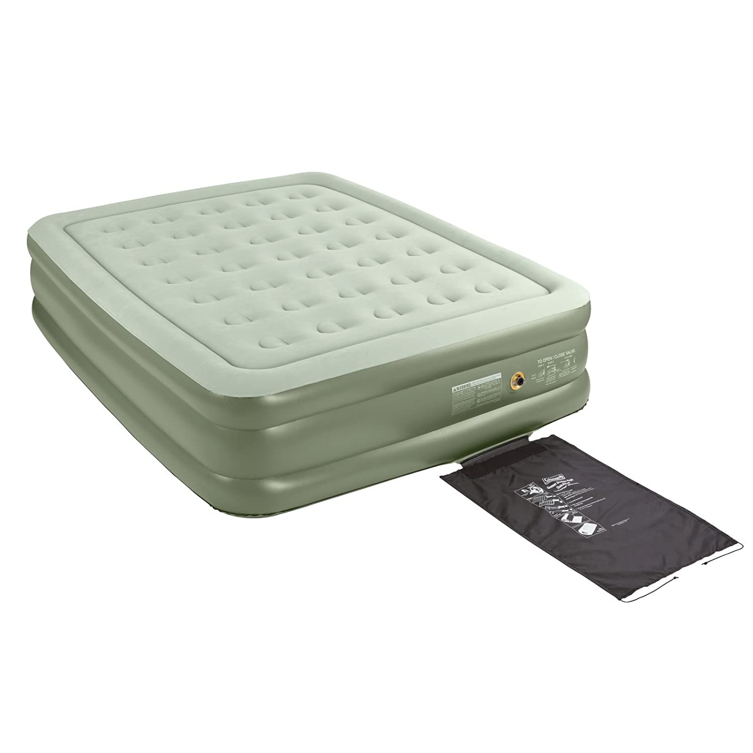 Amazon.com : Coleman Double-High SupportRest, Queen : Camping Air Mattresses  : Sports & Outdoors