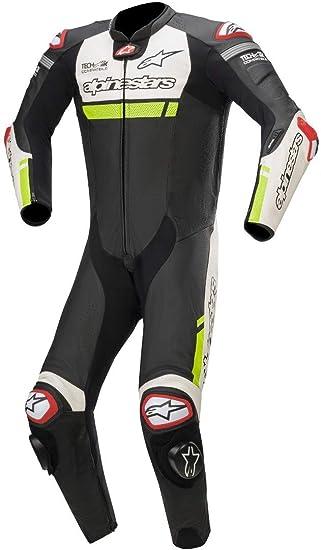 Alpinestars gp r v2 tech air giubbotto moto in pelle nero