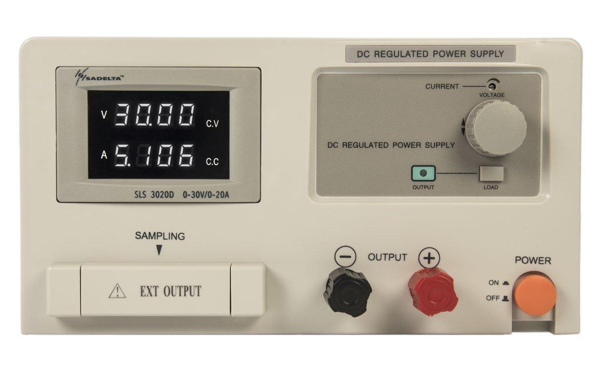 SADELTA SLS-3020 Fuente laboratorio 20A regulable 0-30 v