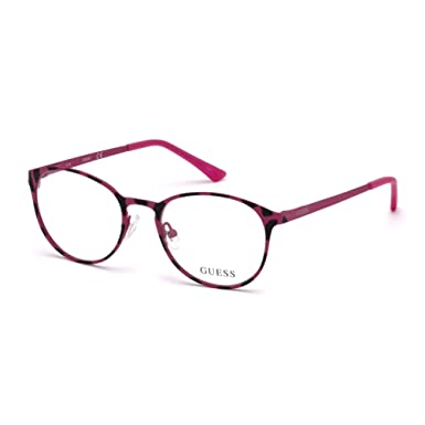 Guess GU3011, Monturas de Gafas Unisex Adulto, Rosa, 47.0 ...