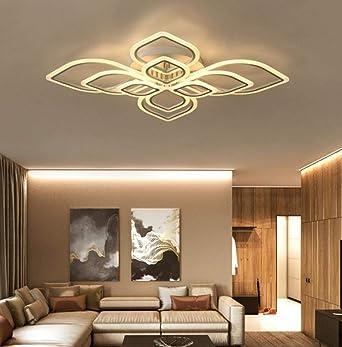 Art Deco superficie montada LED luces de techo de acrílico ...