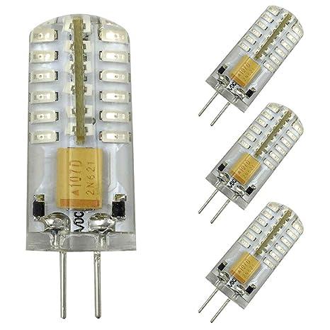 G4 Led Bulb 12v Ac Dc 2w Red Light Bulb 48 3014 Smd 20w Halogen Bulb Equivalent Capsule Spotlight Lamps For Landscape Rv 4 Pack