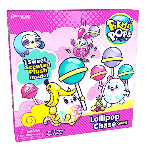 (Pikmi Pops Lollipop Chase Game Board)